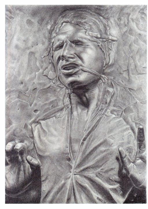Han Solo, Art by Josh Bell