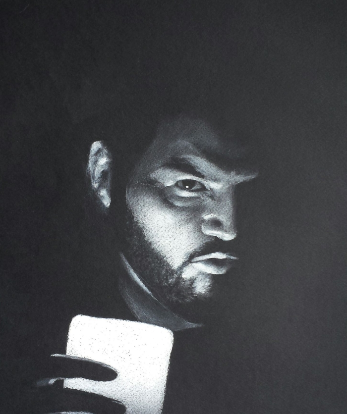 Josh Bell self-portrait