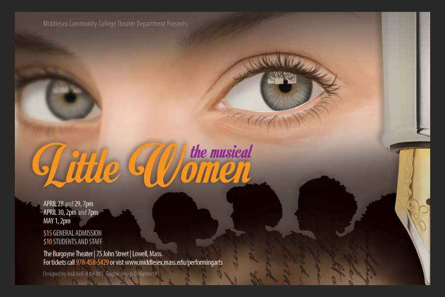 Poster for Little Women (the musical)